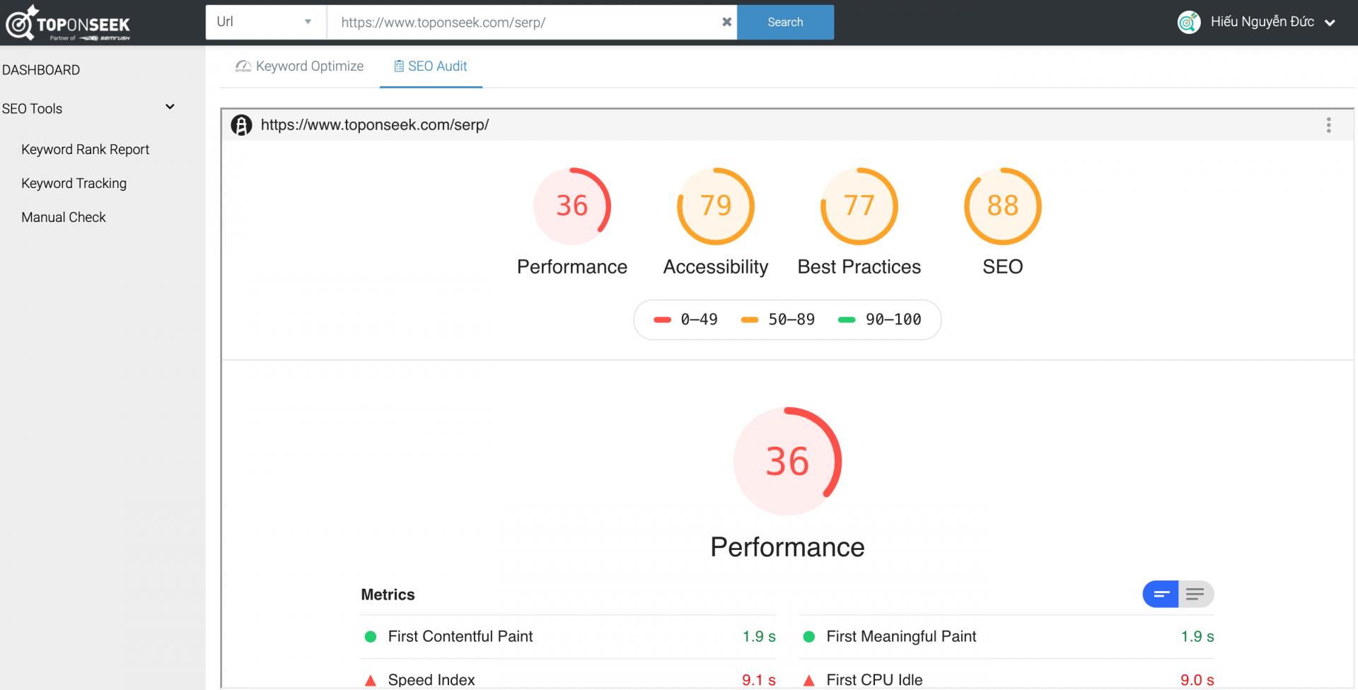 Google Pagespeed, Insight xem nhanh tốc độ tải trang và lỗi SEO