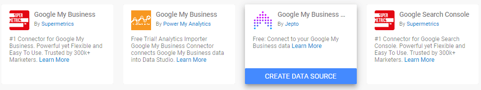 Cách làm report Google My Business bằng Data studio