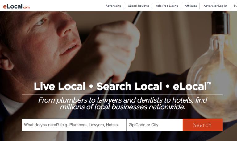 Web Directories: eLocal