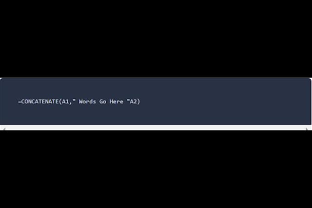 Sử dụng hàm Concatenate trong Google Sheet SEO