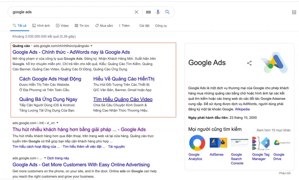 Google Ads CPC