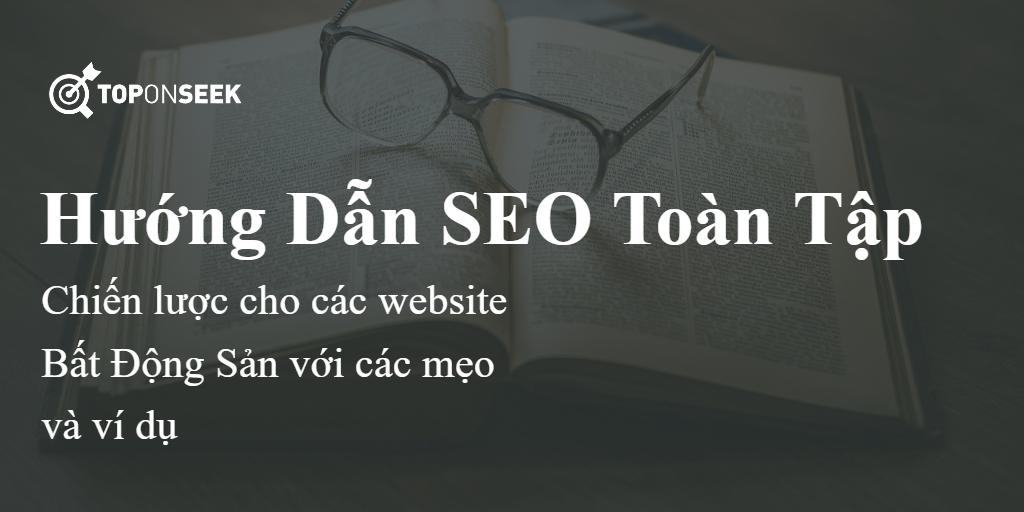 hướng dẫn seo website bất động sản