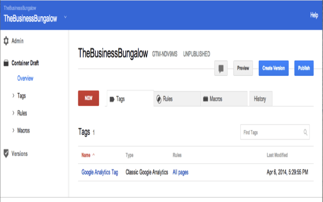 Cách publish trong Google Tag Manager