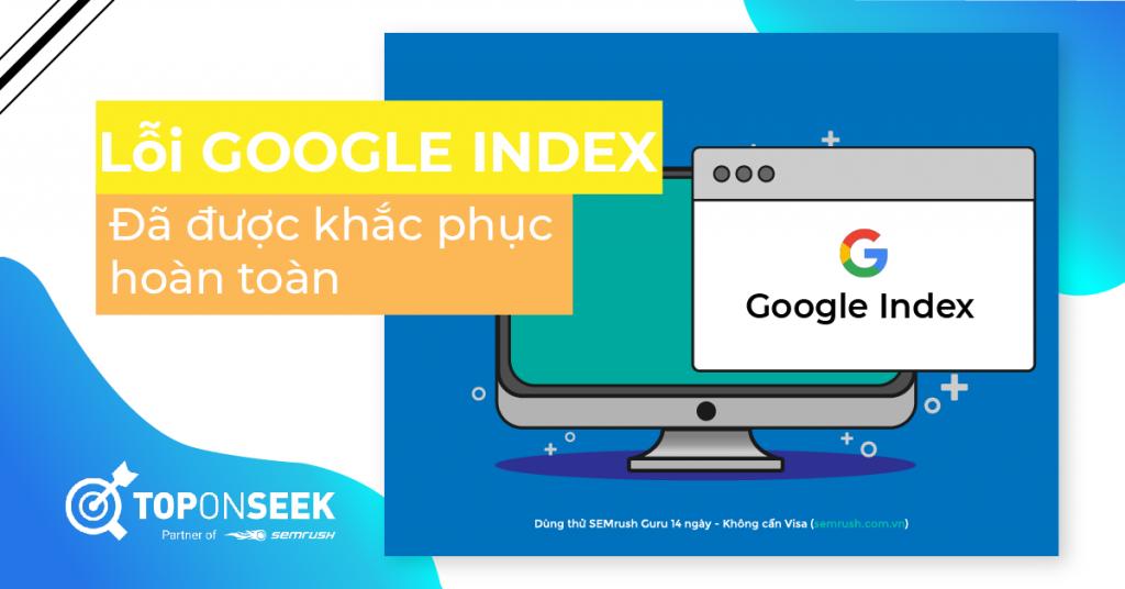 lỗi Google Index
