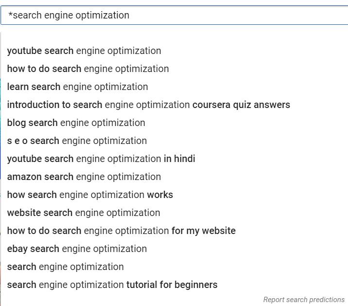 Tối ưu thanh công cụ tìm kiếm