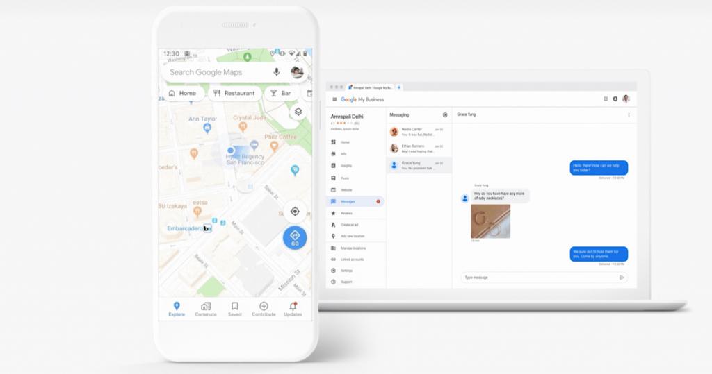 Google Maps cập nhật 4 tính năng mới