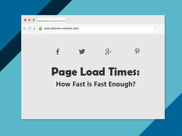 Tốc độ load trang của website là gì ?