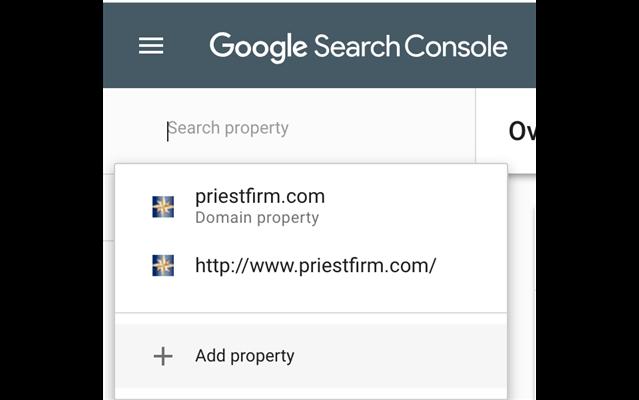 Chọn vào domain bạn muốn phân tích