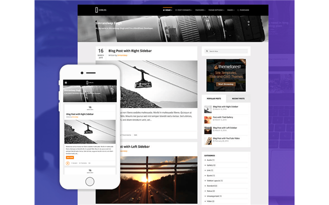 Theme WordPress: GoBlog