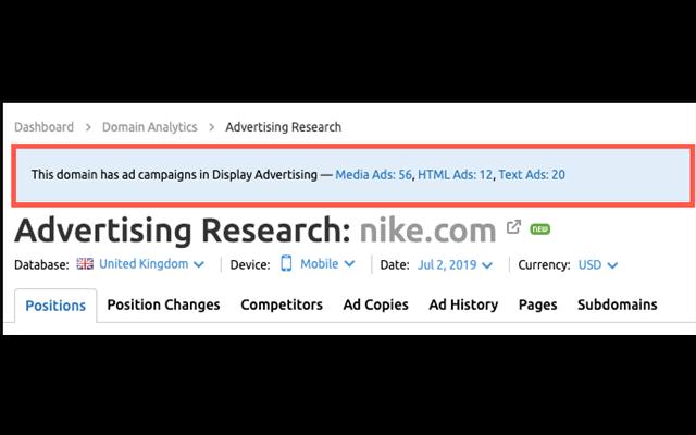 Nghiên cứu quảng cáo được cải thiện đáng kể