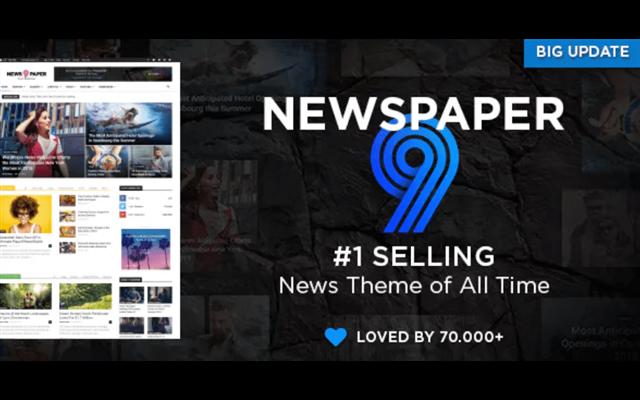 Theme WordPress: Newspaper