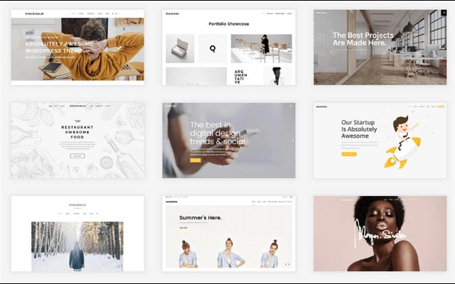Theme WordPress: Stockholm