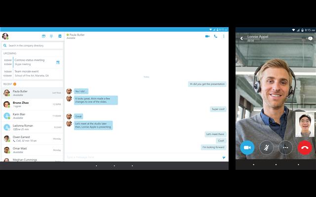 Tính năng gọi điện trên Skype