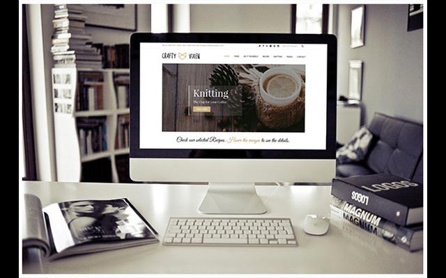 Theme WordPress: Vixen Blog