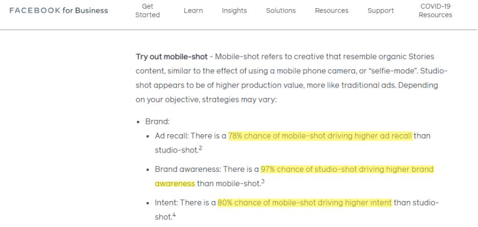 Mobile-shot và Studio-shot?