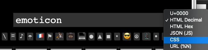 Tùy chỉnh các mã code CSS và HTML để chọn Emoji phù hợp