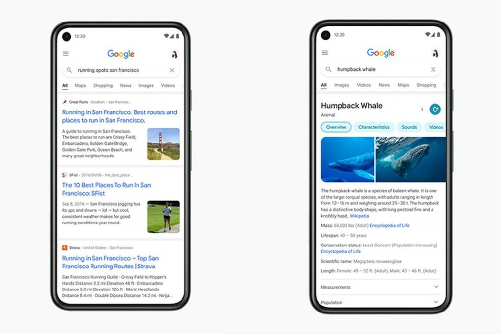 Google Search ra mắt bản thiết kế và giao diện mới trên thiết bị di động