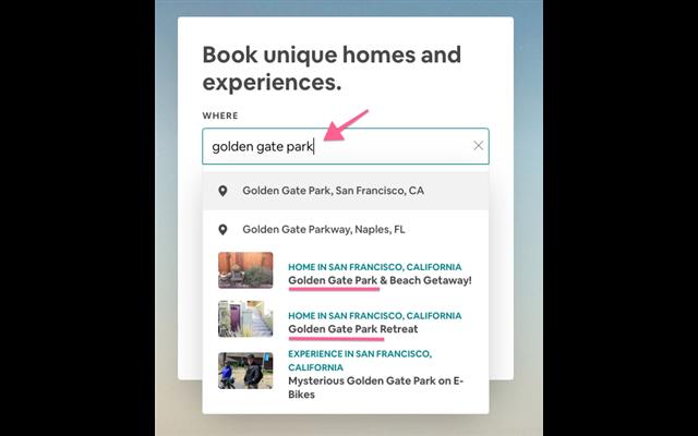 Đặt tiêu đề trong Airbnb