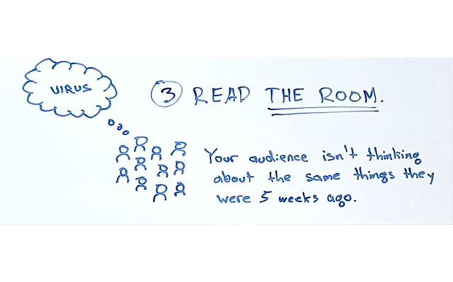 Read The Room trong Marketing