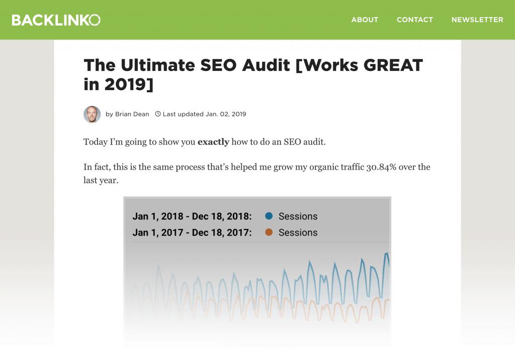 Tối ưu hóa bài đăng dựa theo SEO Audit