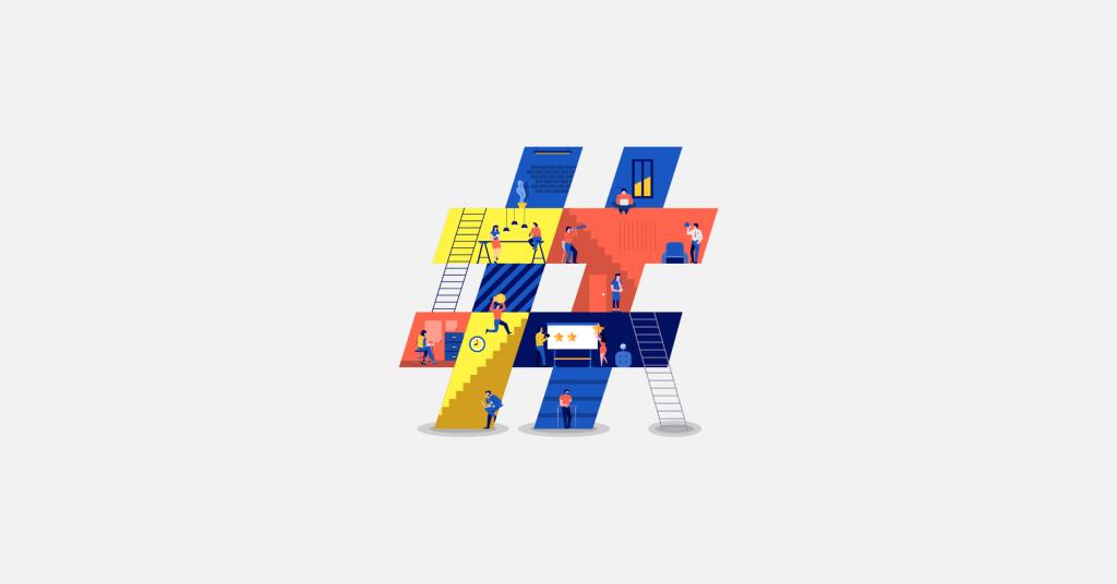 Cách thức Hashtag hoạt động trên Twitter, Instagram, Google Plus, Pinterest, Facebook, Tumblr và Flickr