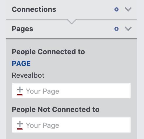 Cách thu nhỏ khách hàng bằng các kết nối trong Facebook Audience Insights
