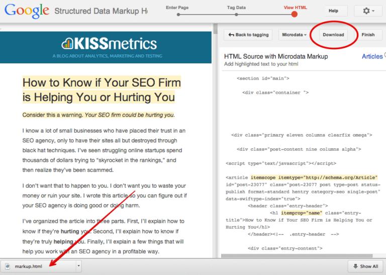 Giải pháp thay thế đơn giản hơn là tải xuống tệp HTML