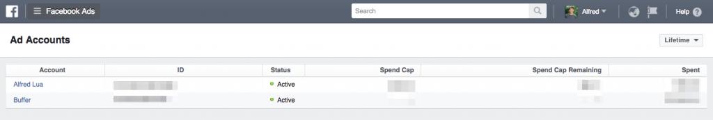 Truy cập Facebook Ads Manager