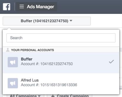 Truy cập https://www.facebook.com/ads/manager để được chuyển hướng trực tiếp vào Facebook Ads Manager