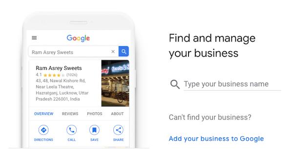Cách tạo Google My Business
