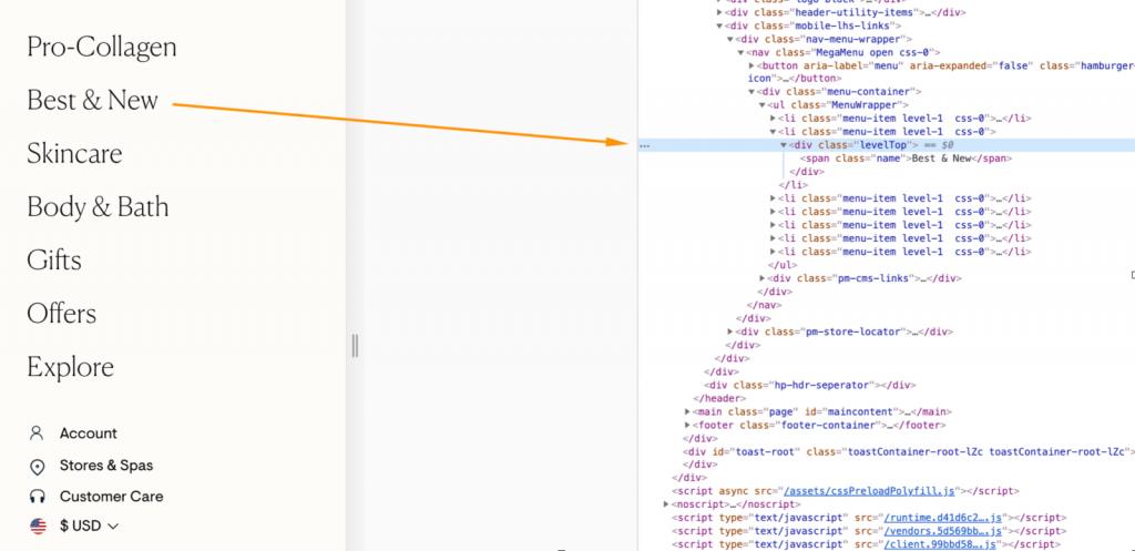 JavaScript làm được gì - Trang web được điều hướng không thể truy cập thông tin