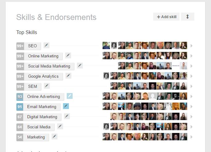 LinkedIn SEO tốt cần phải có sự xác nhận