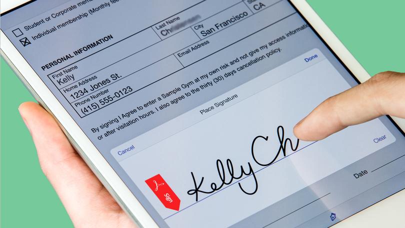 Adobe Sign hoat dong dua vao  cloud-based e-signature