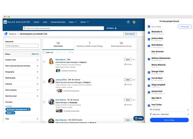 Tìm kiếm và tiếp cận Email miễn phí nhờ tiện ích Reply Chrome Extensions   Top On Seek