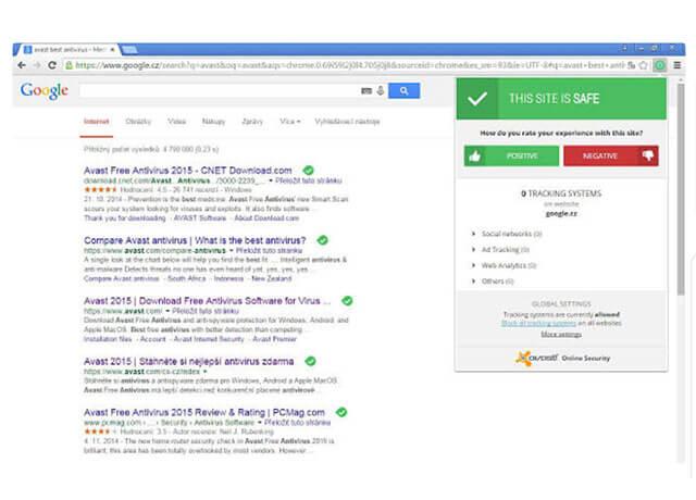 Avast Online Secruity kiểm tra tính website riêng lẻ mà bạn đăng nhập trên Chrome Extensions   Top On Seek