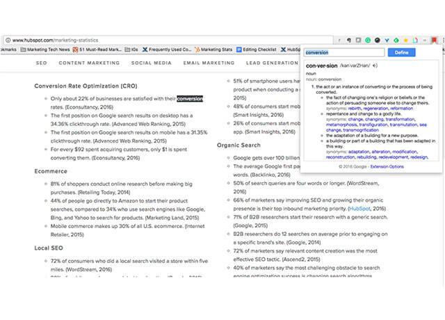Tiện ích Google từ điển ngay trên trình duyệt bạn đang mở   Top On Seek