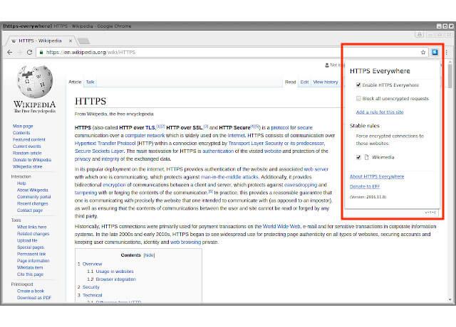 Phần mở rộng trình duyệt HTTPS Chrome Extensions   Top On Seek