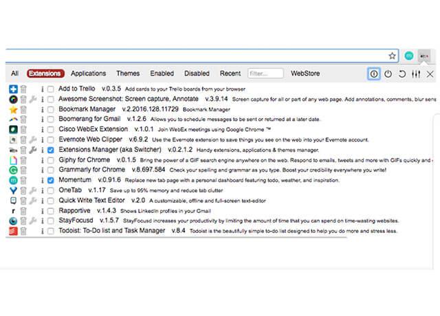 Trình duyệt quản lý tiện ích mở rộng  Chrome Extensions   Top On Seek