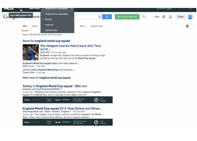 Tìm kiếm thông tin chi tiết từ nhiều web khác nhau trên  MozBar   Top On Seek