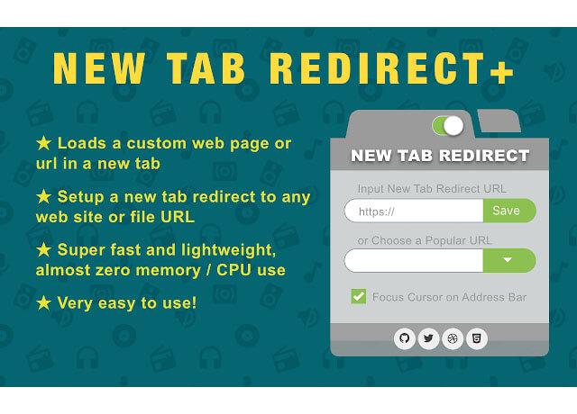 Hình ảnh New Tab URL Redirect Changer Plus Chrome Extensions    Top On Seek