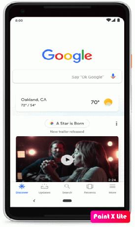 Google Discover Optimize - Màn hình nền ứng dụng Google Discover | Toponseek