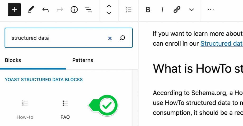 tạo FAQ block trên WordPress