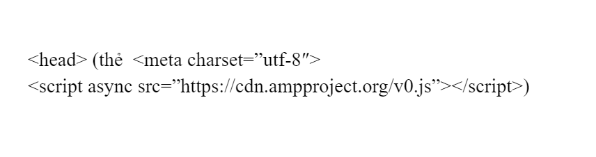 Mã code html amp