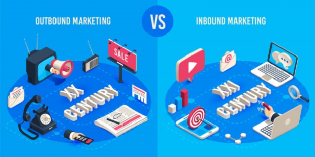 So sánh Outbound marketing và Inbound marketing