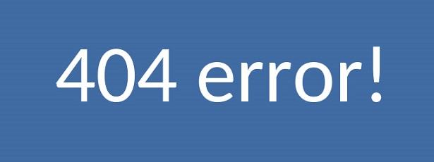 lỗi nội bộ 404