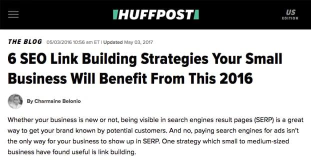 Bước 4 Nghiên cứu trang web mục tiêu từ BuzzSumo