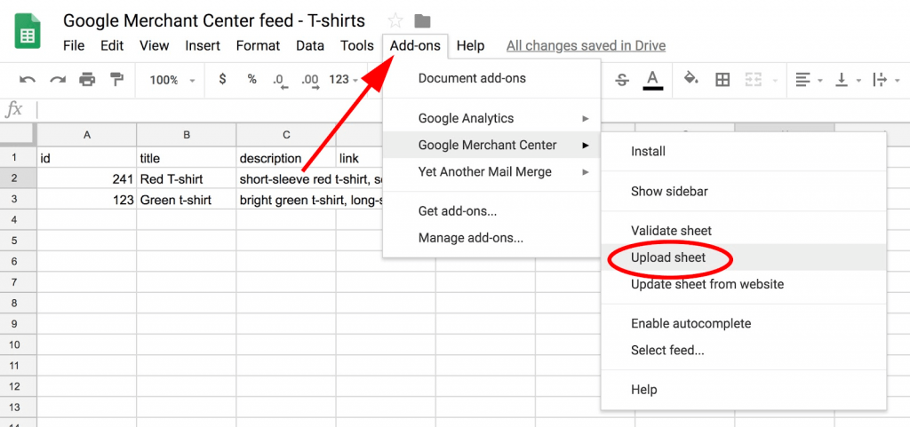 Cách sử dụng Google Merchant Center