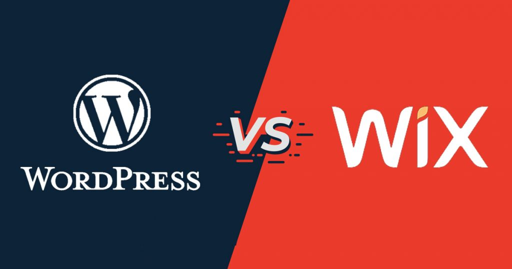 so sánh wix và wordpress