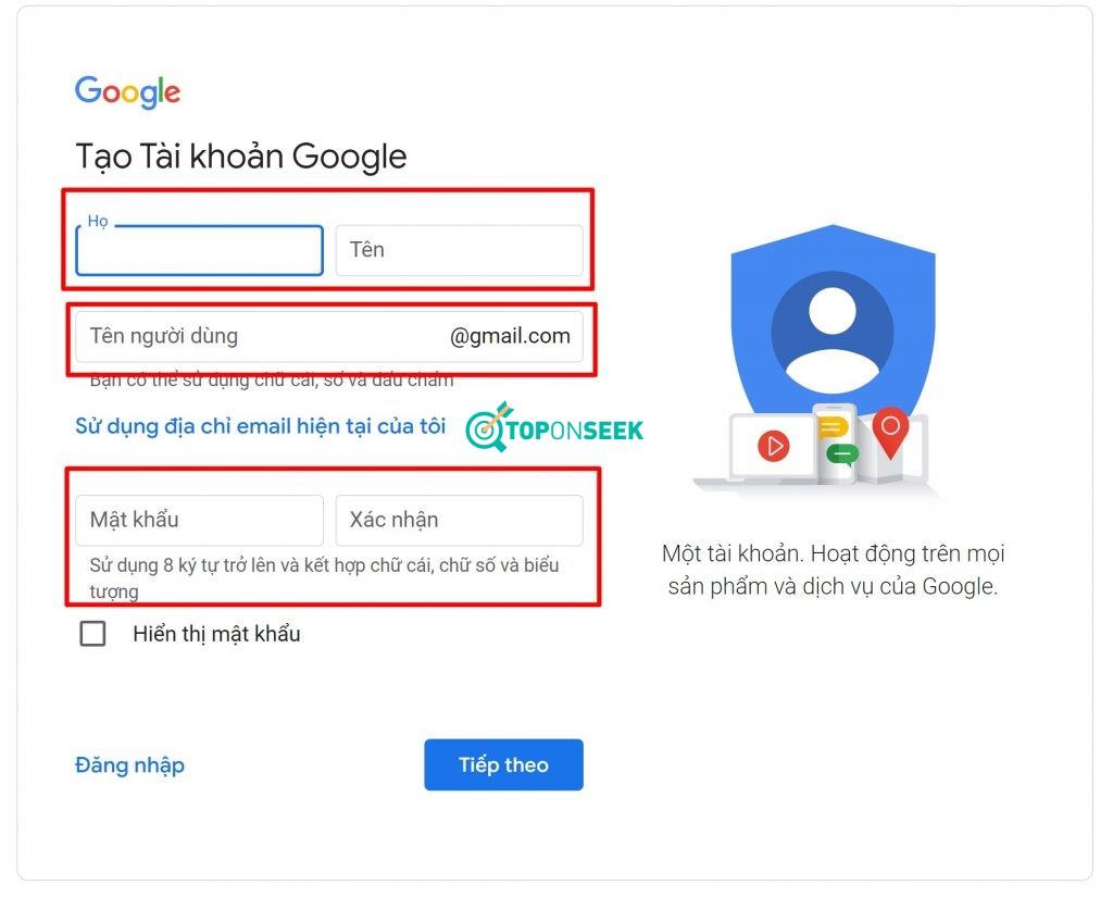 Cách Tạo Gmail không cần xác minh số điện thoại