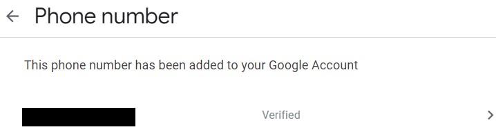 Xem số điện thoại đã đăng ký tài khoản Gmail